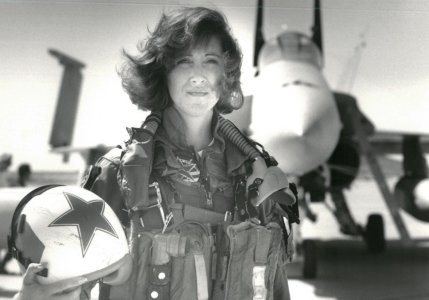 U.S. Navy photo of Southwest Airlines pilot Tammie Jo Shults photo in 1992